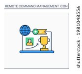 reward achievement color icon.... | Shutterstock .eps vector #1981048556