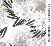 splash seamless pattern.... | Shutterstock .eps vector #1981065383