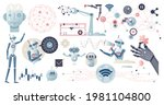 artificial intelligence or ai... | Shutterstock .eps vector #1981104800