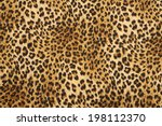 wild animal pattern background... | Shutterstock . vector #198112370