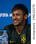 Постер, плакат: Neymar of Brazil at