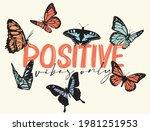 romantic cute colorful... | Shutterstock .eps vector #1981251953