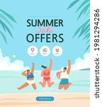summer shopping event... | Shutterstock .eps vector #1981294286