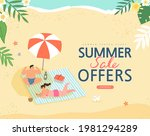 summer shopping event... | Shutterstock .eps vector #1981294289