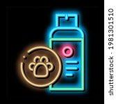 dog care spray neon light sign...   Shutterstock .eps vector #1981301510