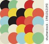 geometric abstract vector... | Shutterstock .eps vector #1981312193