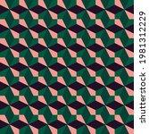 mid century geometric abstract... | Shutterstock .eps vector #1981312229