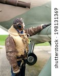 Ww2 Fighter Pilot With...