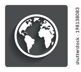 globe sign icon. world map...