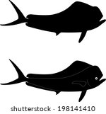 Dolphin Bull Vector Silhouette