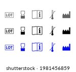 product icon set to be consumed ... | Shutterstock .eps vector #1981456859