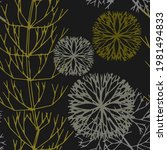 decorative grass for design.... | Shutterstock . vector #1981494833