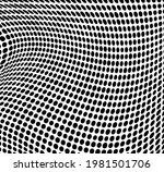 the halftone texture is... | Shutterstock .eps vector #1981501706