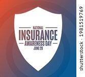 national insurance awareness...   Shutterstock .eps vector #1981519769