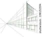 a street in perspective | Shutterstock . vector #198152594
