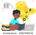 e learning   online early...   Shutterstock .eps vector #1981548146