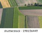 fields from above | Shutterstock . vector #198156449