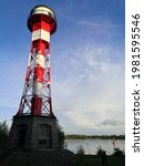 Lighthouse At Elbe River In...