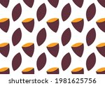 roasted sweet potato. sweet... | Shutterstock .eps vector #1981625756