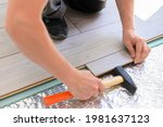 close up process of laying...   Shutterstock . vector #1981637123