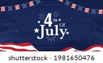 4th of july american...   Shutterstock .eps vector #1981650476
