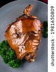 Pork Knuckle Baked In Bavarian...