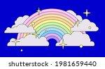 cute vector illustration of... | Shutterstock .eps vector #1981659440