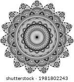 beautiful mandala designs ...   Shutterstock .eps vector #1981802243