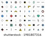 abstract geometric shapes.... | Shutterstock .eps vector #1981807316