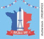 bastille day memorial...   Shutterstock .eps vector #1981894523