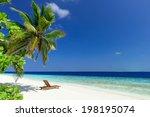 Beautiful Beach With Coconut...