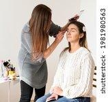 professional visage lessons...   Shutterstock . vector #1981980563