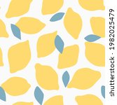 seamless pattern with abstract... | Shutterstock .eps vector #1982025479