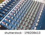 detail of a music mixer in... | Shutterstock . vector #198208613
