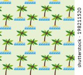marine seamless pattern with... | Shutterstock .eps vector #198211520