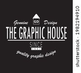 the graphic house genuine... | Shutterstock .eps vector #1982194910