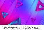 trendy abstract background.... | Shutterstock . vector #1982255660