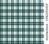fabric plaid pattern full...   Shutterstock .eps vector #1982292419