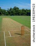 Small photo of Cricket pitch at Kerala Cricket Association Ground, Thumba, Trivandrum