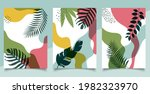 set of cover brochure template...   Shutterstock .eps vector #1982323970
