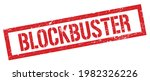 Blockbuster Red Grungy...