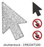 mesh mouse pointer polygonal...   Shutterstock .eps vector #1982347100