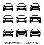 transport design over white... | Shutterstock .eps vector #198235763