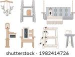outdoor furniture and patio...   Shutterstock .eps vector #1982414726