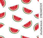 vector hand drawn pattern with...   Shutterstock .eps vector #1982485529