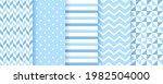 baby backgrounds. blue seamless ...   Shutterstock .eps vector #1982504000