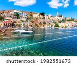 Symi Town Architecture And...