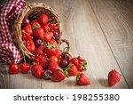Scattered Ripe Summer Berries...
