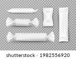 white polyethylene package for...   Shutterstock .eps vector #1982556920