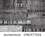 rough black and white texture...   Shutterstock .eps vector #1982577656